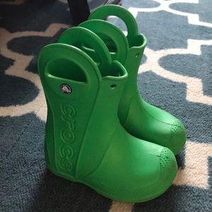 Croc Wellies- Toddler size 8